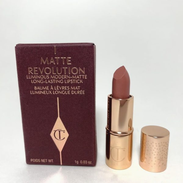 ae11e09f44f13 Home   MAKEUP   Lips   Charlotte Tilbury Matte Revolution Lipstick PILLOW  TALK Mini NIB (DELUXE)