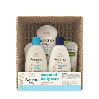 Aveeno - Baby Essential Daily Care Baby & Mommy Giftset